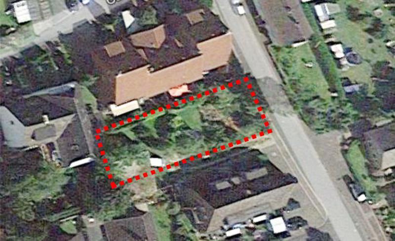 Voll erschlossenes Baugrundstück in zentraler Lage für Einfamilien- Doppel- oder Mehrfamilienhaus !!!