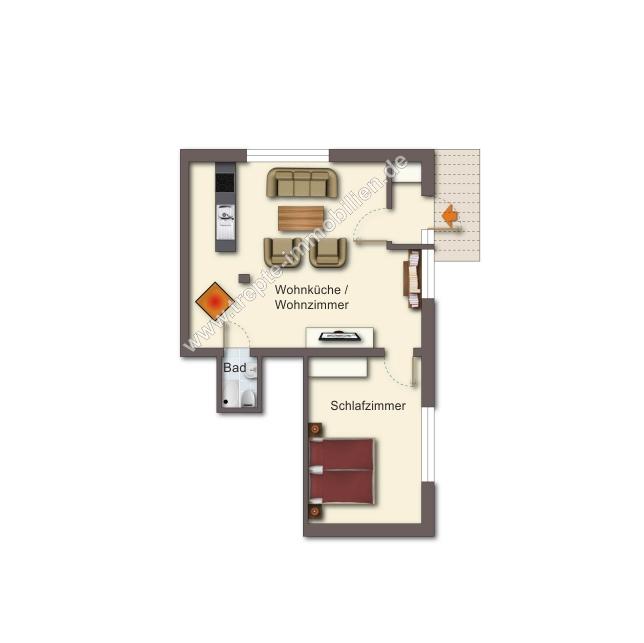 Grundriss Obergeschoss 1
