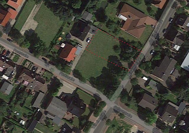 755 m² voll erschlossenes Baugrundstück