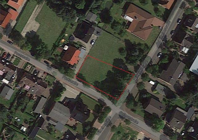 755 m² voll erschlossenes Baugrundstück in ruhiger Lage
