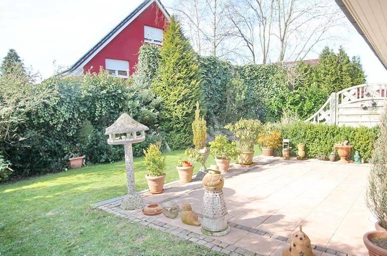 Garten & Terrasse Einliegerwohnung