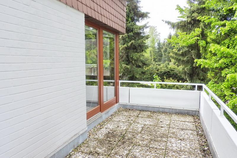 Nord-/Westbalkon - Schlafzimmer