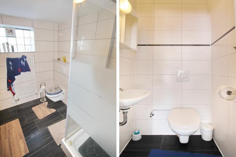 Badezimmer und Gäste-WC