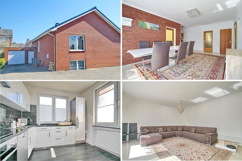 Zweifamilienhaus in 2. Reihe mit 210 m² Wohnfläche an der Grenze zu Hamburg !!!